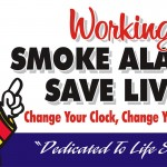 San Bernardino County Fire Department Reminds You To Change Your Clock, Change Your Batteries